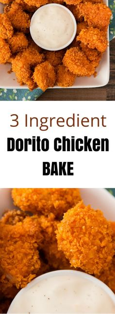 3 Ingredient Popcorn Chicken