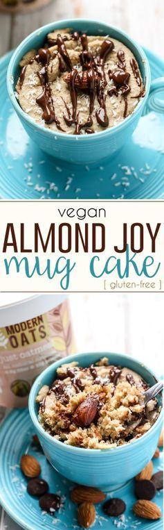 Almond Joy Mug Cake [ gluten-free, vegan ]