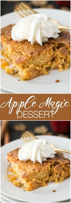 Apple Magic Dessert