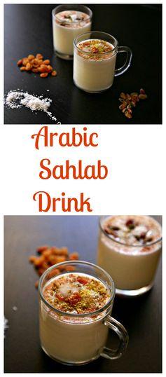 Arabic Sahlab drink