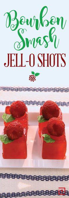 Bourbon Smash Jell-O Shots