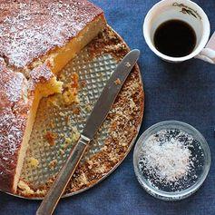 Brandy-Orange New Year's Cake (Vasilopita