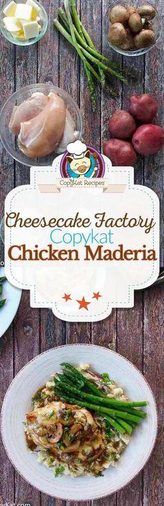 Cheesecake Factory Chicken Madeira