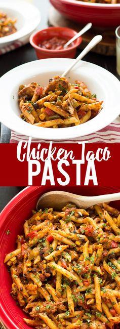 Chicken Taco Pasta