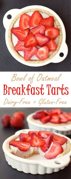 Dairy Free Breakfast Tarts with