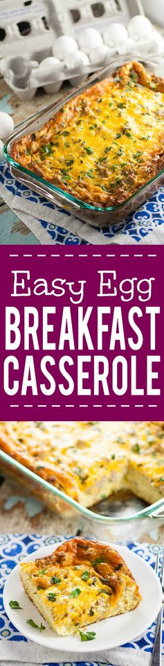 Easy Egg Breakfast Casserole