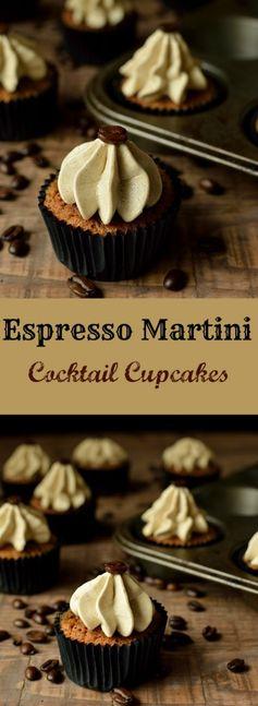 Espresso Martini Cupcakes