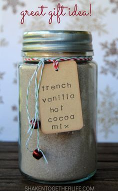 French Vanilla Hot Cocoa Mix