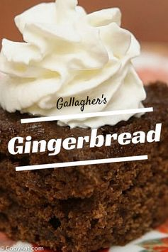 Gallagher's Gingerbread