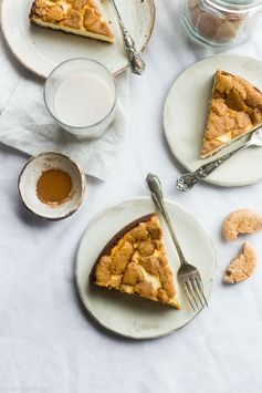 Gluten Free Snickerdoodle Greek Yogurt Cheesecake