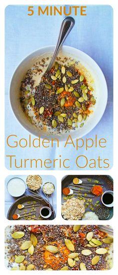 Golden Apple Turmeric Oats