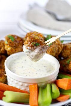 Guest Post: Buffalo Chicken Meatballs