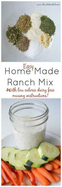 Home Made Ranch Mix