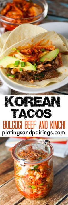 Korean Tacos - Asian Fusion