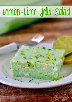 Lemon-Lime Jello Salad a.k.a. Dad's Green Jello
