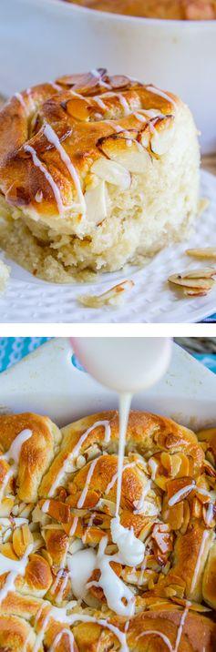 One Hour Honey Almond Crunch Rolls