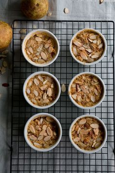 Paleo Pear and Almond Crisp