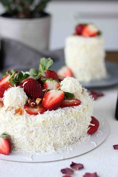 Raffaello layer cake
