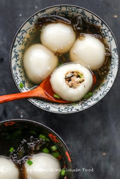 Savory Tang Yuan