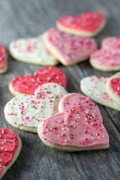 Sour Cream Cut Out Cookies
