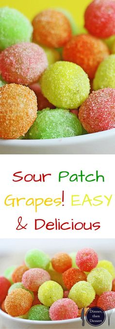 Sour Patch Grapes - Healthier than the Candy