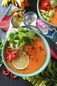 Thai Carrot & Cucumber Gazpacho