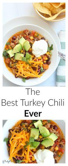 The Best Turkey Chili Ever