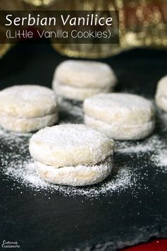 Vanilice (Serbian Little Vanilla Cookies