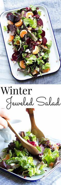 Winter Jeweled Salad