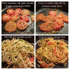 Zucchini Noodles (Zoodles