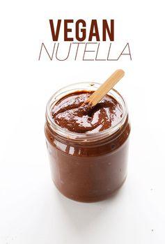 4 Ingredient Nutella (Vegan + GF