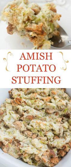 Amish Potato Stuffing