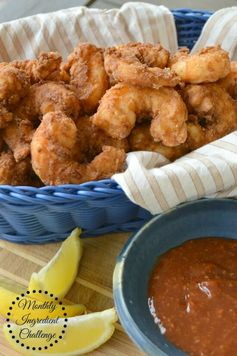 Bacon Battered Fried Shrimp