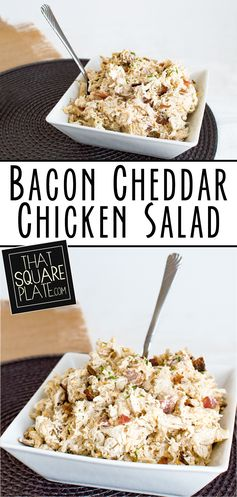Bacon Cheddar Chicken Salad