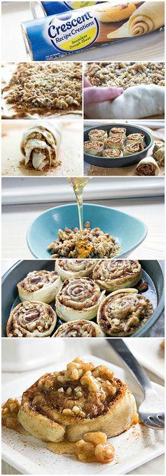 Baklava Cinnamon Rolls
