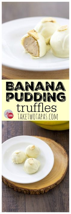 Banana Pudding Truffles