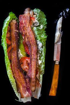 BLT Lettuce Wraps