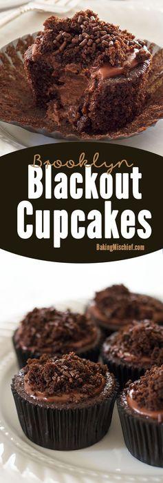 Brooklyn Blackout Cupcakes