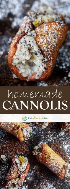 Cannoli Recipe (How to Make Cannolis