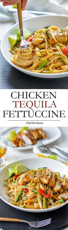 Chicken Tequila Fettuccine