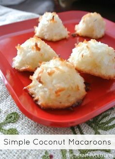 Christmas Cookies! Simple Coconut Macaroon Recipe (Gluten-Free