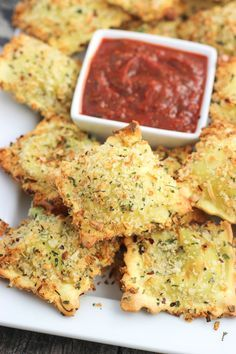 Crispy and Baked Toasted Ravioli