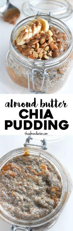 Dreamy Almond Butter Chia Pudding
