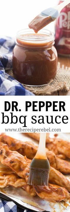 Easy Homemade Dr. Pepper BBQ Sauce