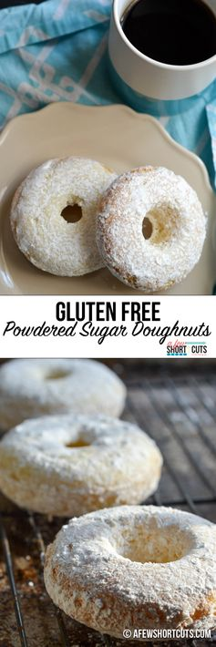 Gluten Free Powdered Sugar Doughnuts