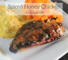 Grilled Spiced Honey Chicken