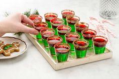 Grinch Jell-o Shots