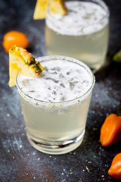 Habanero-Pineapple Margaritas