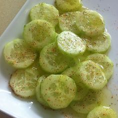 Healthy Cucumber Snack