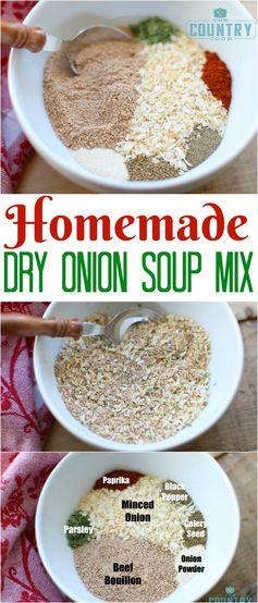 Homemade Dry Onion Soup Mix
